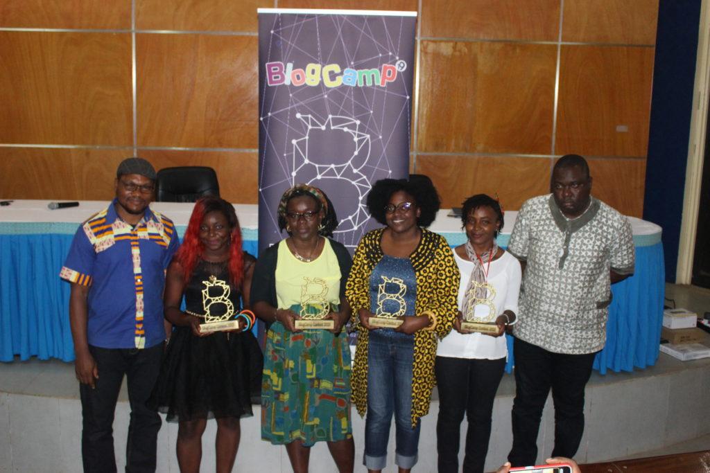 Les lauréates du Blogcamp Contest19-BlogCamp 19-Yaounde-Cameroun